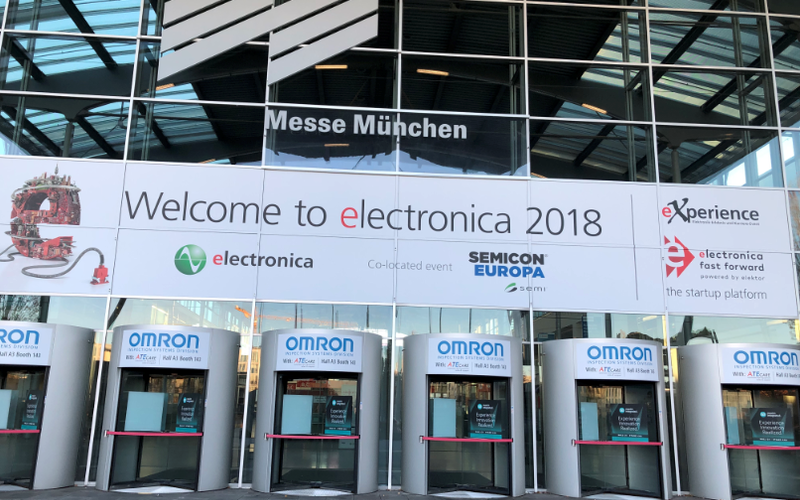 PCB JSD estreou no 2018 International Electronics Show em Munique, Alemanha